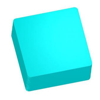 Квадрат 6*6см Силиконовая форма