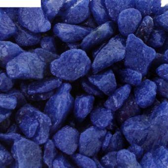 Грунт цветной Синий (фр.3-10мм), 100 гр