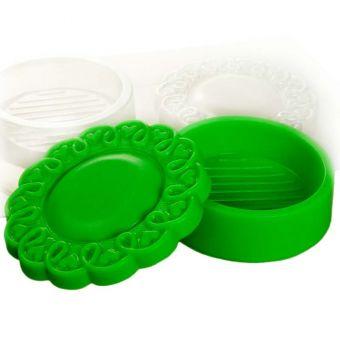 """Пластиковая форма для мыла 3D """"Шкатулка кружевная (pc)"""""""