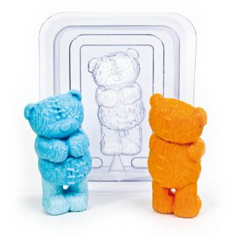 Мишка 3D(pc) - пластиковая форма