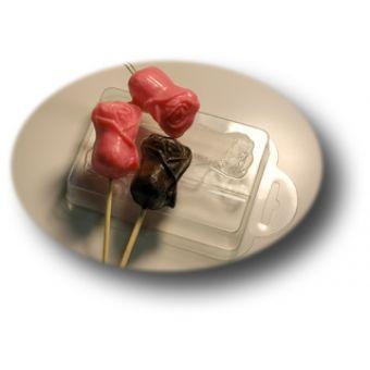 Форма для мыла шоколад Бутон розы 1
