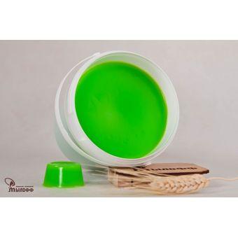 MYLOFF COLOR lime мыльная основа - насыщенного светло-зеленого цвета