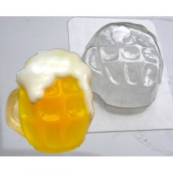 Кружка пива ED - пластиковая форма