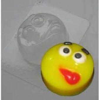 Смайл с язычком - пластиковая форма ed