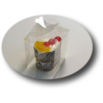 ПП1-008, подарочная упаковка для мыла пластиковая