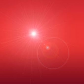 Красный, гелевый перламутровый пигмент 10 мл