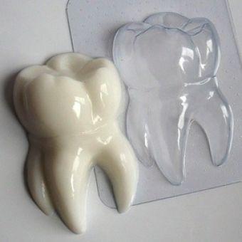 Зубик(ed) - пластиковая форма