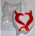 Чёртово сердце - пластиковая форма