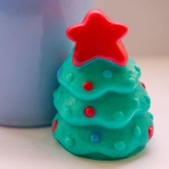 """Силиконовая форма для мыла """"Маленькая ёлочка 3D"""""""