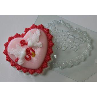 Голуби свадебные - пластиковая форма
