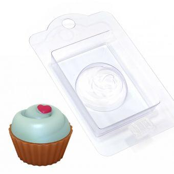 Кейк верхушка (крем с сердечком) (pc) - пластиковая форма