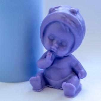 Малыш 3D - силиконовая форма