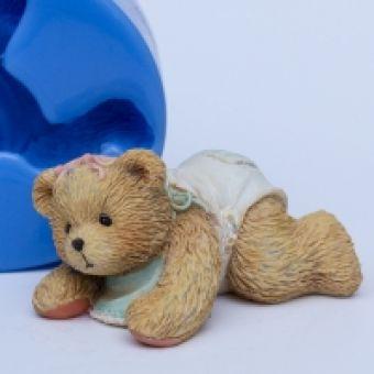 Мишка Тедди 3D - силиконовая форма