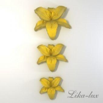 Набор Орхидея 3 шт. 2D - силиконовая форма