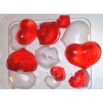 "Пластиковая форма для мыла ""Сердечки-поцелуйчики"""