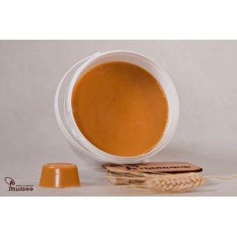 MYLOFF COLOR cookie мыльная основа - цвета светлой карамели/пропеченного теста, 1 кг.
