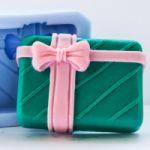 Подарок 2D - силиконовая форма