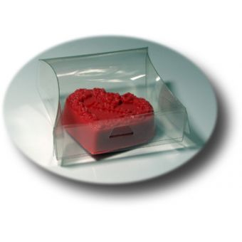 ПП1-002, подарочная упаковка для мыла пластиковая