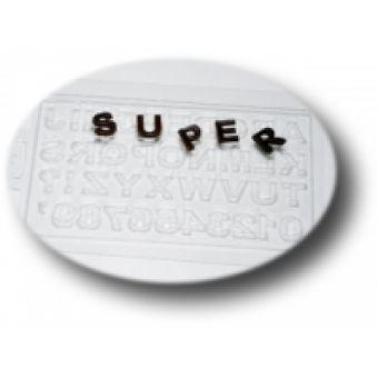 Алфавит английский MF - пластиковая форма