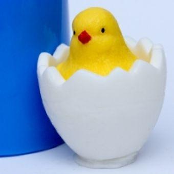 Цыпленок в яйце 3D - силиконовая форма