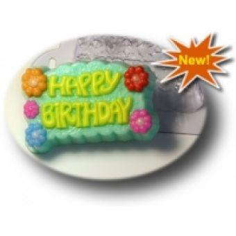 Happy Birthday - пластиковая форма
