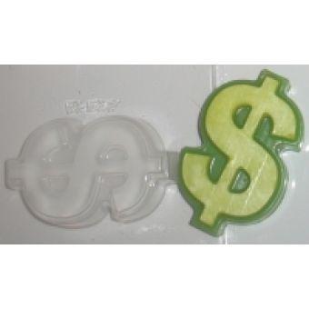 Доллар - пластиковая форма