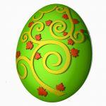 Яйцо (узор) - пластиковая форма