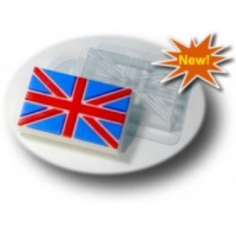 """Пластиковая форма для мыла """"Флаг Великобритании"""""""