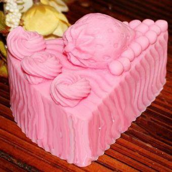 Клубничный пирог 3D