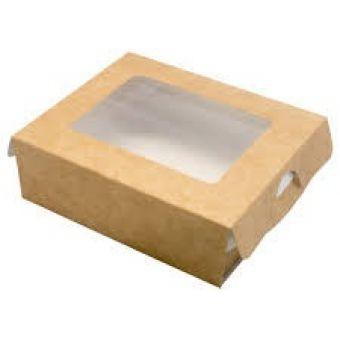 Картонная коробка для упаковки подарков 100x80x30 мм
