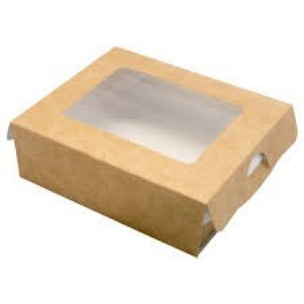 Картонная коробка для упаковки подарков 100*80*30мм