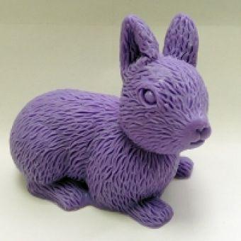 Кролик 3D - силиконовая форма