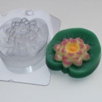 Пластиковая форма для мыла - Лотос (ed)