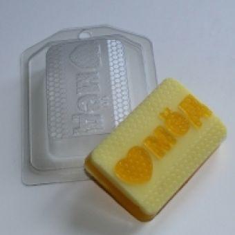 Люблю мед ED- пластиковая форма