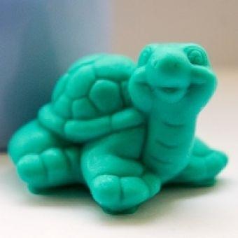 """Силиконовая форма """"Маленькая черепашка 3D"""""""