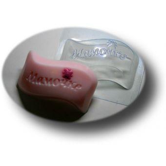 """Пластиковая форма для мыла """"Мамочке (mf)"""""""
