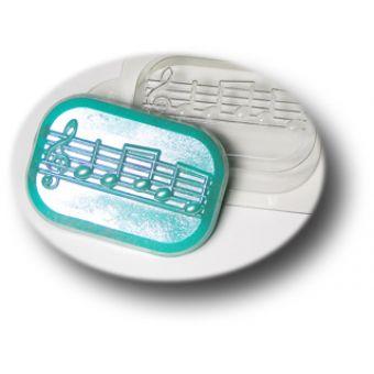 Ноты - пластиковая форма mf