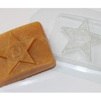 "Пластиковая форма для мыла ""Бляха (ed)"""