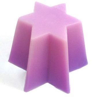 Звезда 6 лучей (pc) Пластиковая форма для свечей