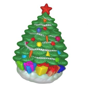 Елка с подарками (pc) - пластиковая форма