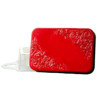 """Пластиковая форма для мыла """"Орнамент прямоугольный (pc)"""""""