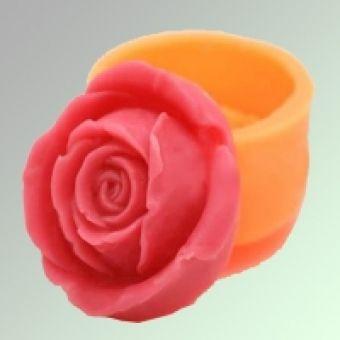 Роза 35 2D - силиконовая форма