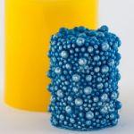 Цилиндр бусины - силиконовая форма