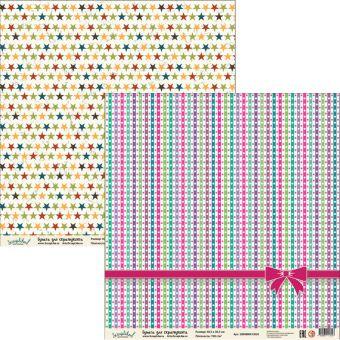 Бумага для скрапбукинга ДТС015