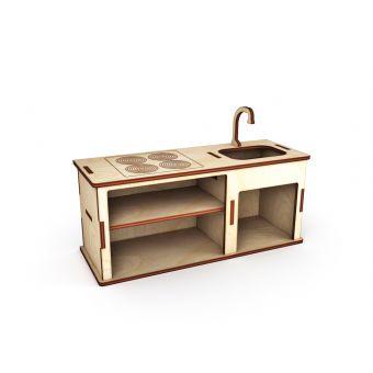 Деревянная заготовка для декупажа - Кухонный набор