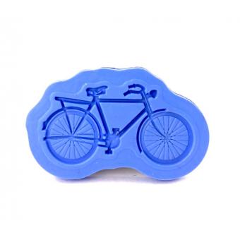 """Силиконовый молд для декора """"Ретро Велосипед"""", малый"""