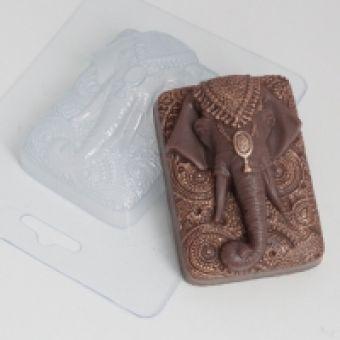 Слон индийский - пластиковая форма