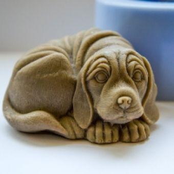 Собака 3D - силиконовая форма