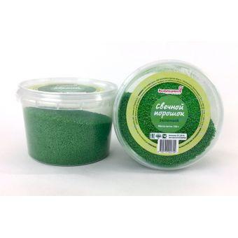 Свечной порошок (зеленый), 50 гр.