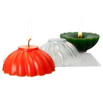 """Пластиковая форма для свечей """"Свеча спираль (pc)"""""""